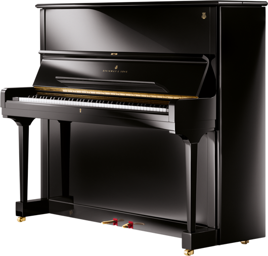 这是一款大尺寸的立式钢琴